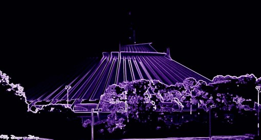 Space Mountain Neon