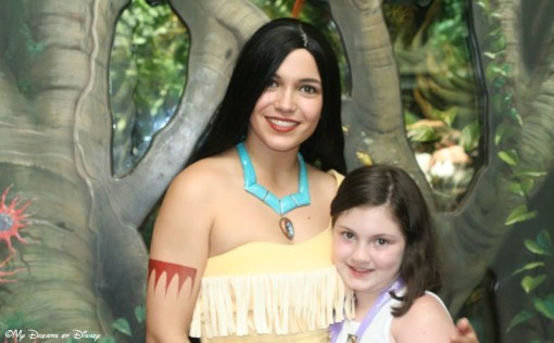 Pocahontas and Sophie