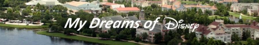 My Dreams of Disney Header