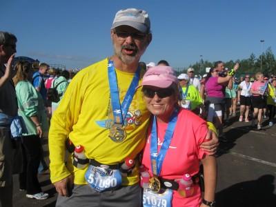 half marathon finish-frank