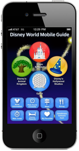Disney World Mobile Guide iPhone 4 - 172 x 310