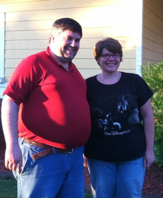 Heidi and Mike, great friends who finally got to meet in person!