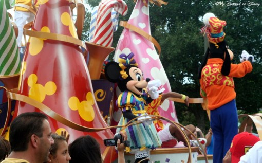 Another Parade with Minnie