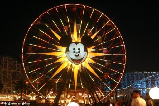 Mickey's Fun Wheel in Paradise Pier