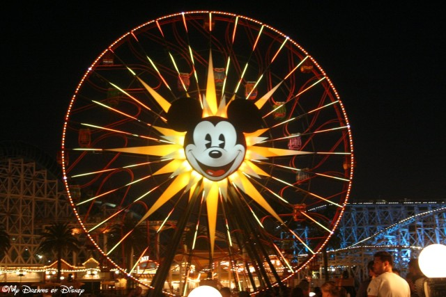 Mickey's Fun Wheel in Paradise Pier