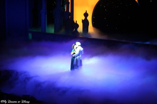 The Kiss -- Princess Jasmine and Prince Ali!