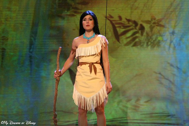 Pocahontas sings in Mickey and the Magical Map
