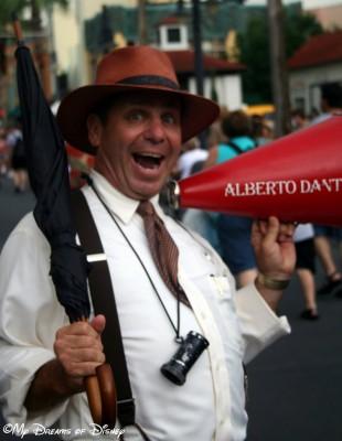 Director Alberto Dante at Disney's Hollywood Studios!