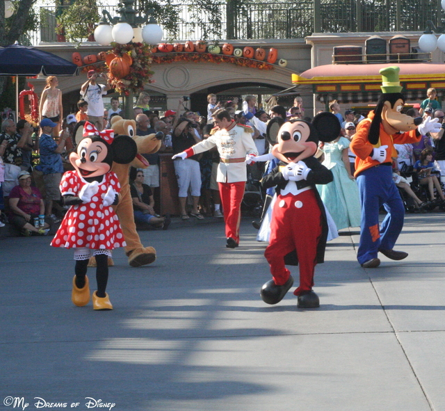The opening parade was a great way to start the day!