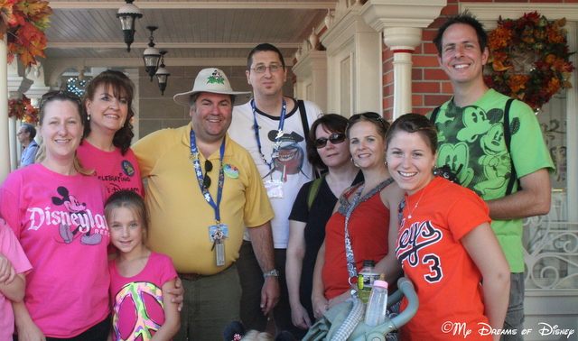 We also had our picture made with our friends from Pixie Vacations!