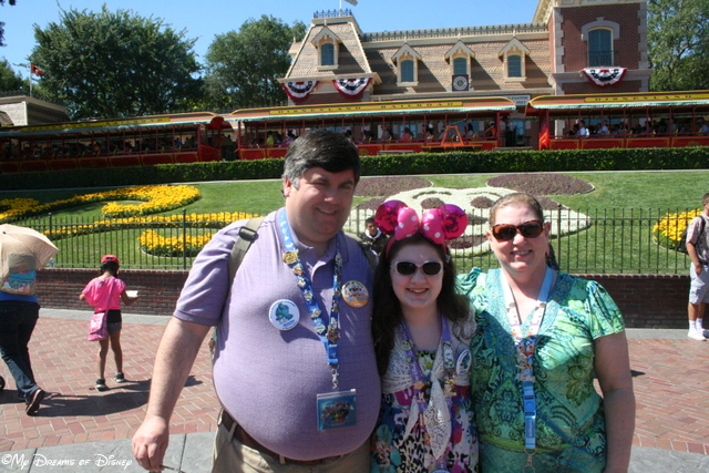 In one of my favorite Disney trips, here I am with my wife Cindy and daughter Sophie, loving every minute!