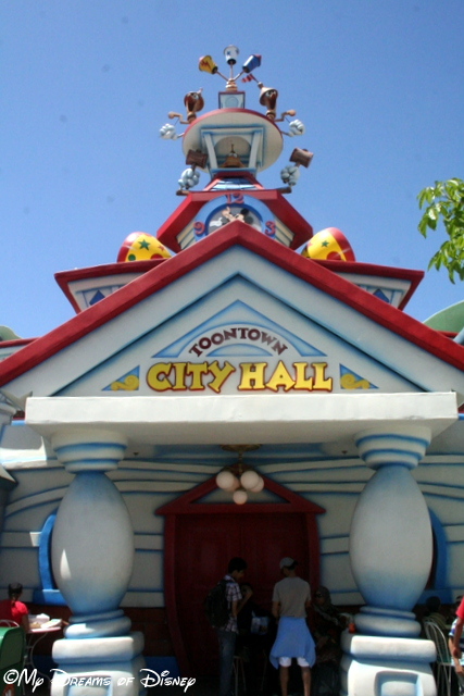It's Toontown City Hall!