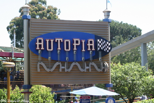 The Autopia, in my opinion, is better than the Tomorrowland Speedway.