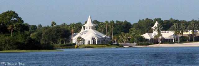 The Walt Disney World Wedding Pavilion