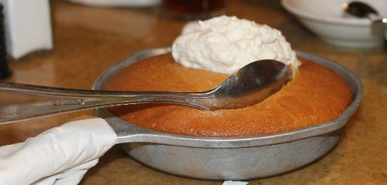 The Berry Cobbler is a delicious dessert! Image ©tripadvisor.com