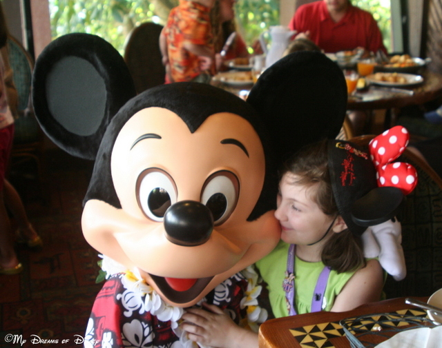 Look at the love in Sophie's eyes for her buddy Mickey!