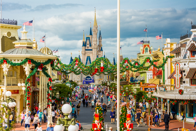 Image Courtesy and ©WDW Shutterbug.  The Magic Kingdom hosts it's own Special Events!