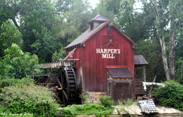 Harper's Mill - Tom Sawyer Island