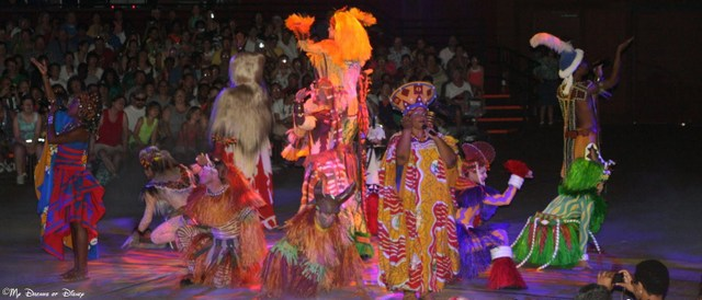Festival of the Lion King -- a great show!
