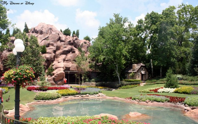 Year round, the Canada Pavilion is one of my favorites, and the gardens are just incredible!