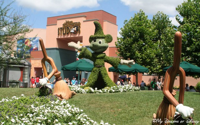 At Disney's Hollywood Studios, Sorcerer Mickey is showcased in green!