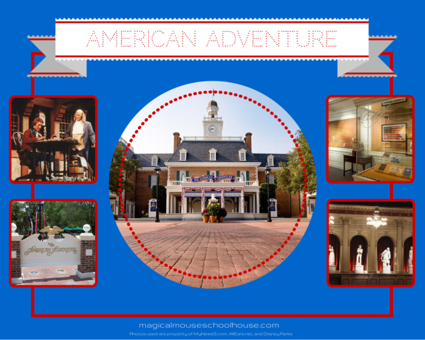 Epcot American Adventure http://www.magicalmouseschoolhouse.com