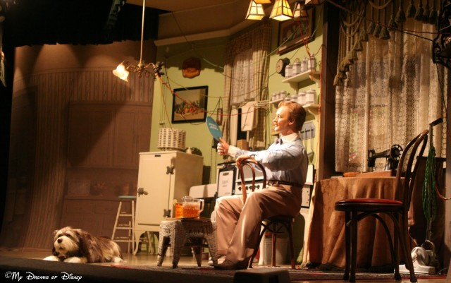 One of the scenes from the Carousel of Progress.