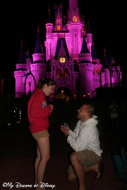 Shane proposing to my niece Stephanie!