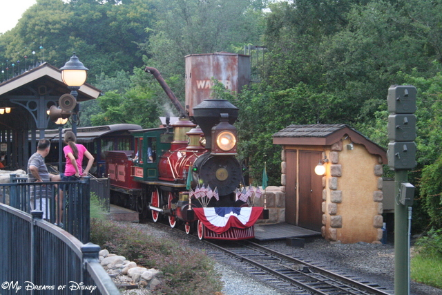WDW Railroad - Fantasyland