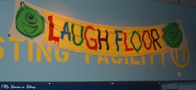 Monster's Inc. Laugh Floor