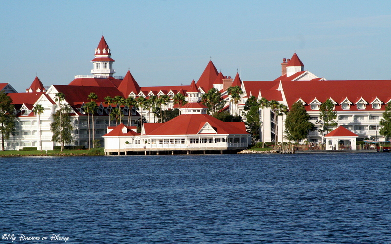 Grand Floridian from Boat