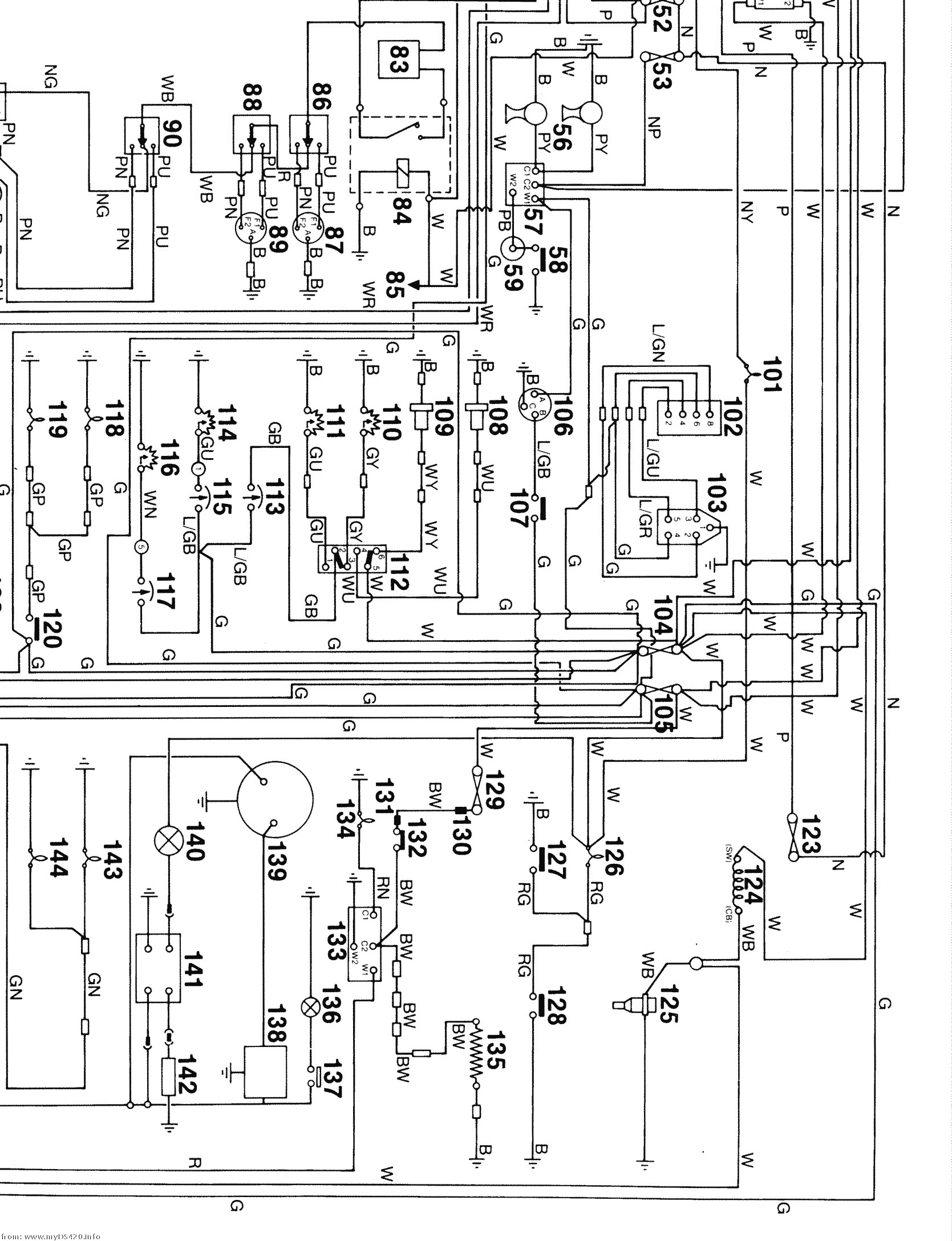 Yfz450 Wiring Diagram - Wiring Diagrams List