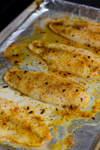 Oven Baked Quick and Easy Swai Fish - My Eclectic Bites