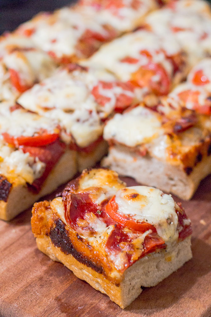 Detroit style pizza my way