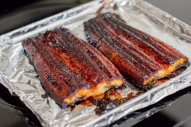 Unagi (Japanese eel) Sushi Roll Dinner - My Eclectic Bites