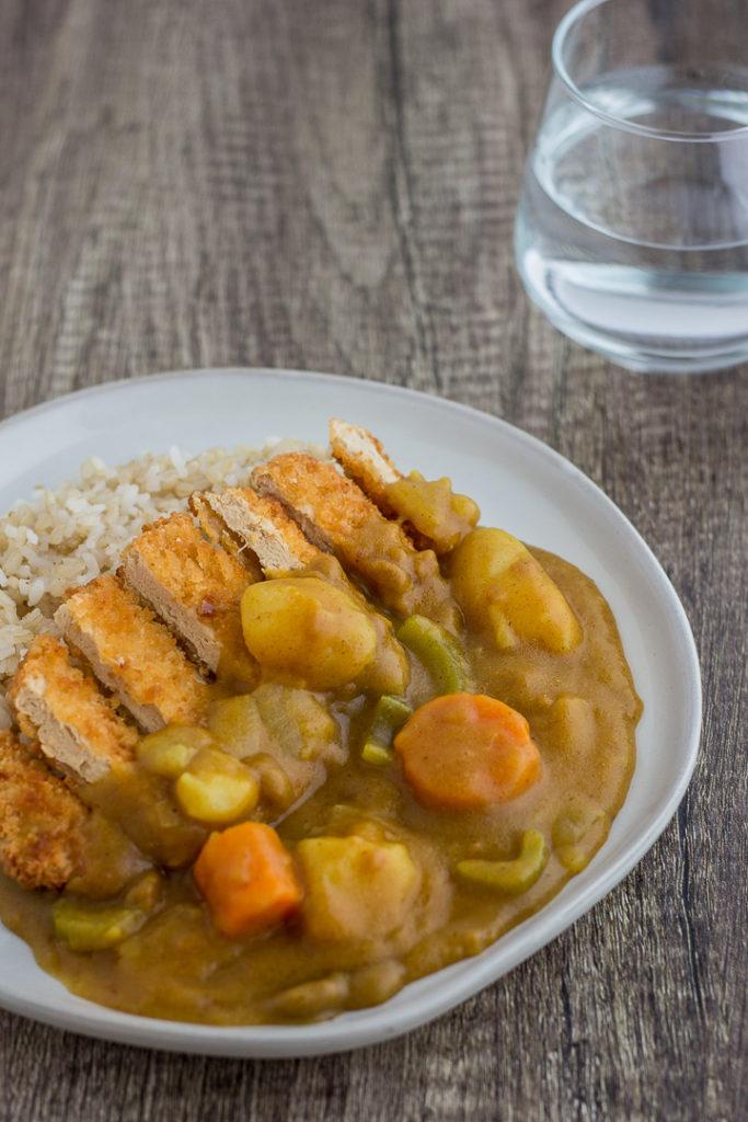 30 Minute Japanese Vegan Katsu Curry My Eclectic Bites