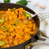 Indian Style Vegetable Curry (no dairy, no coconut milk)