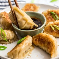 Homemade Korean Veggie Tofu Mandu/Dumplings