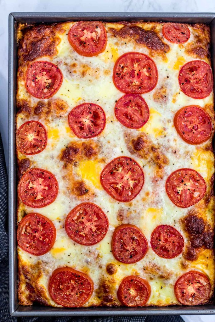 Pizza after baking