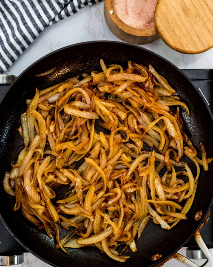 how to quickly caramelized onion