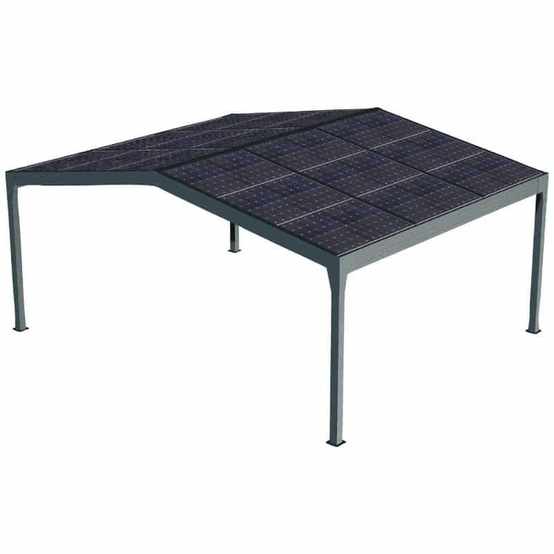 pergola panneaux photovoltaïque