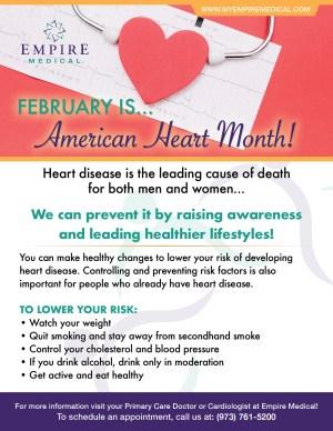 February Health Awareness 2019