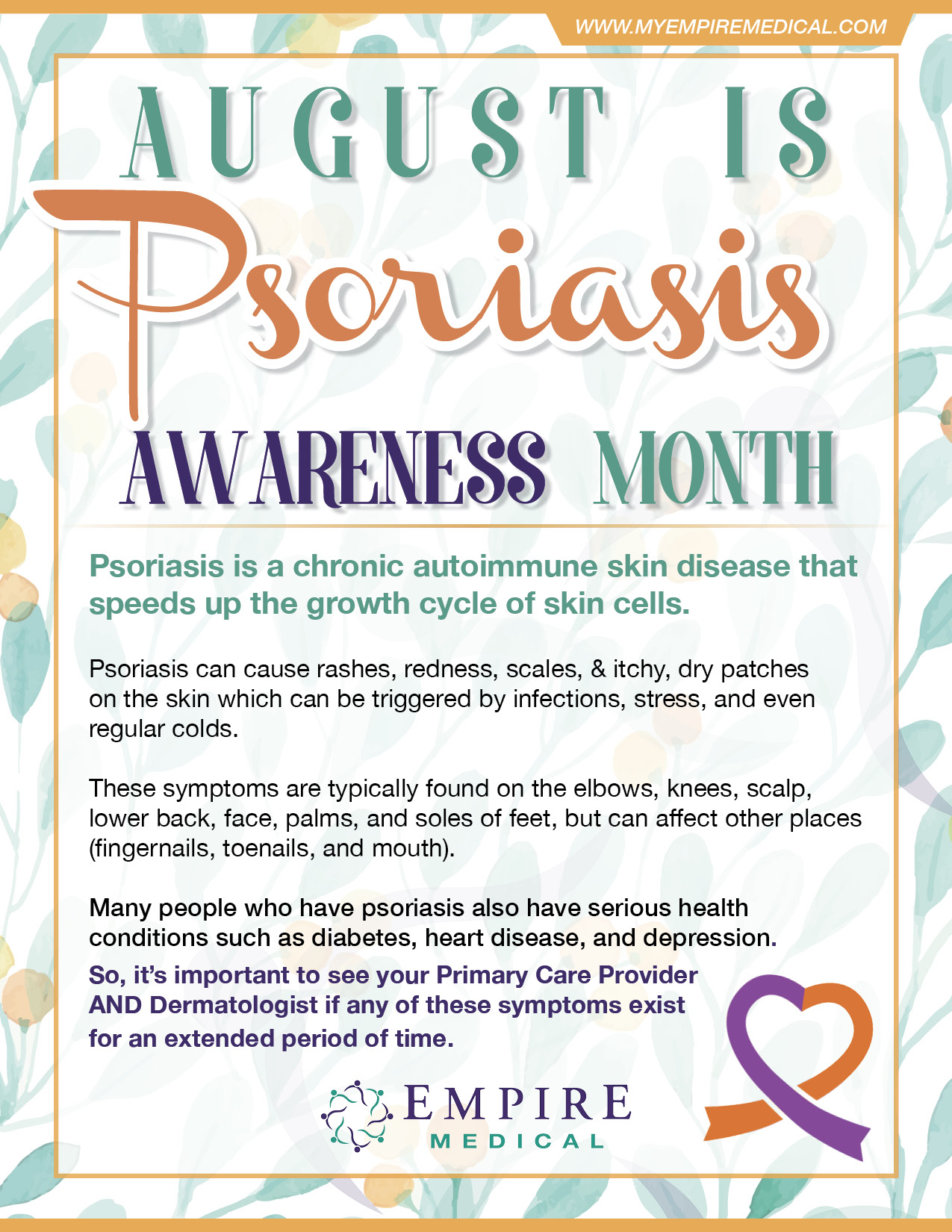 August Awareness