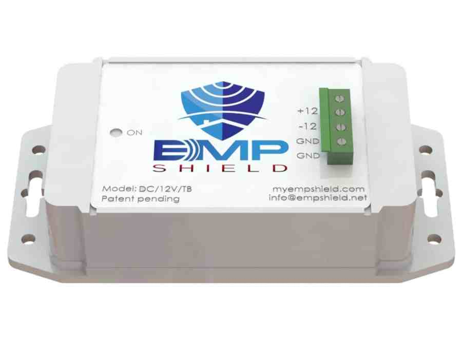EMP Shield DC 12 Volt Model Terminal Box Version