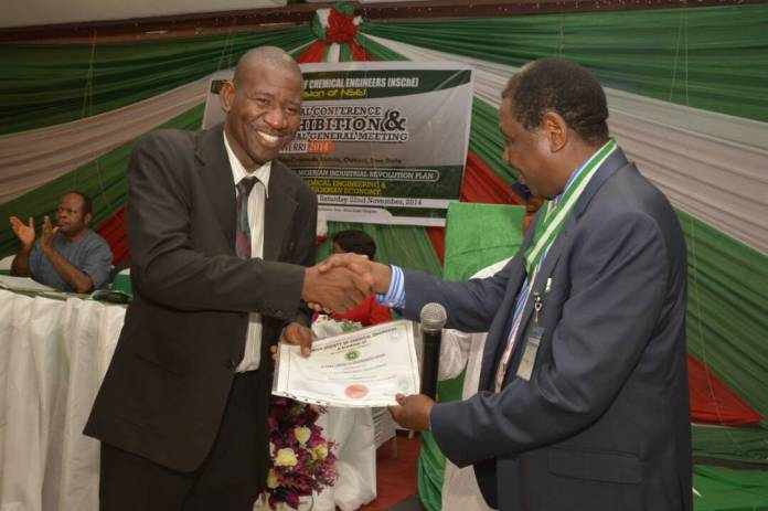 NARICT engineer wins national chemical engineers' award