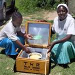 Abuja junior school Constructs solar cooker