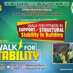 Community Awareness: Civil Engineers to Walk in Support of Structural Stability and Safety