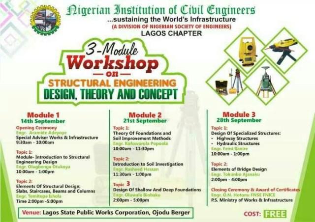 Free Training from NICE Lagos