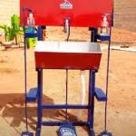 COVID-19: Nigerian innovator  built semi automatic hand wash machine