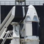 Elon Musk 'overcome with emotion' after SpaceX's 1st astronaut launch